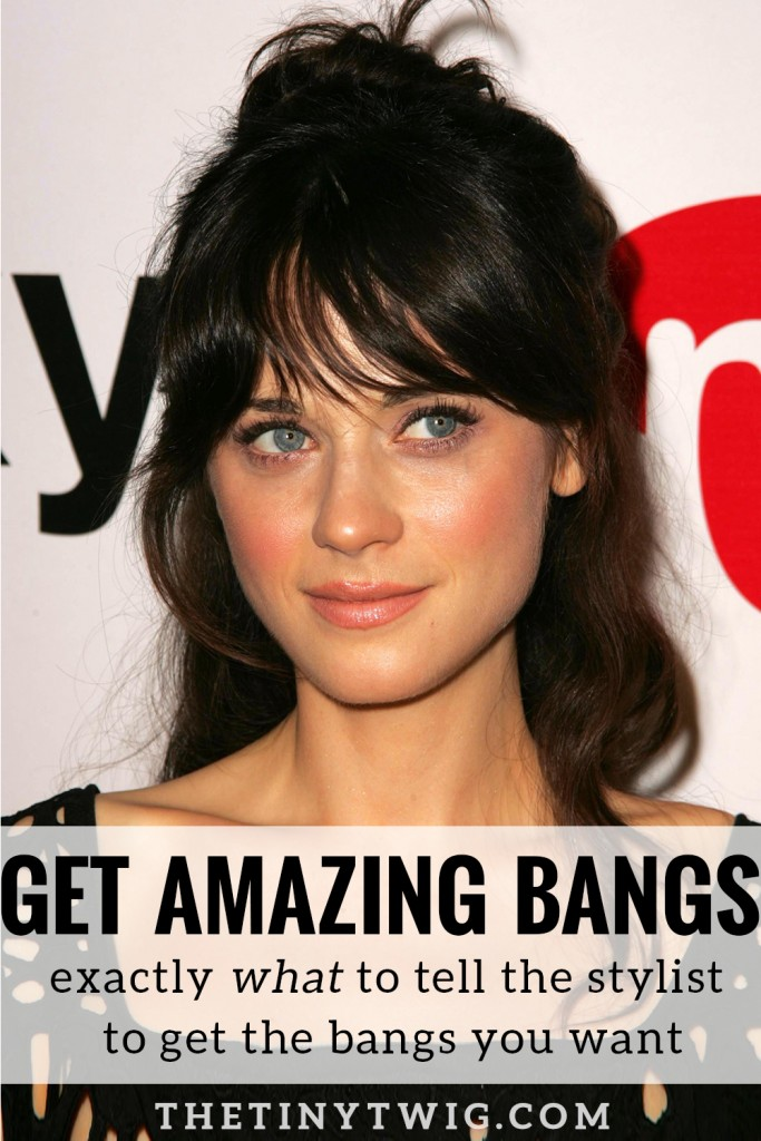 this blogger teamed up with her hairstylist to show and TELL you exactly what to ask your hairstylist for. because, no one wants bangs that look like the bad haircut you got in third grade.