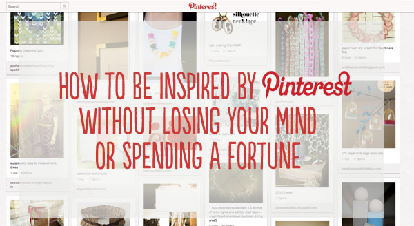 tips to avoid pinterest overwhelm