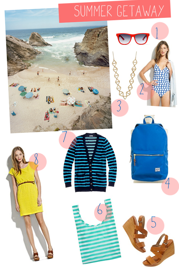 97d0d37973 There's no need to overpack for a breezy summer getaway. Less is more in  the summertime! Pack a bathing suit and a dress, plus a sweater for cover-up  in ...