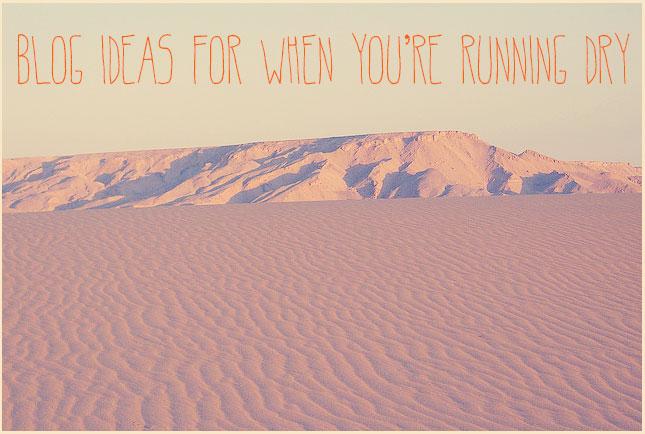 running-dry