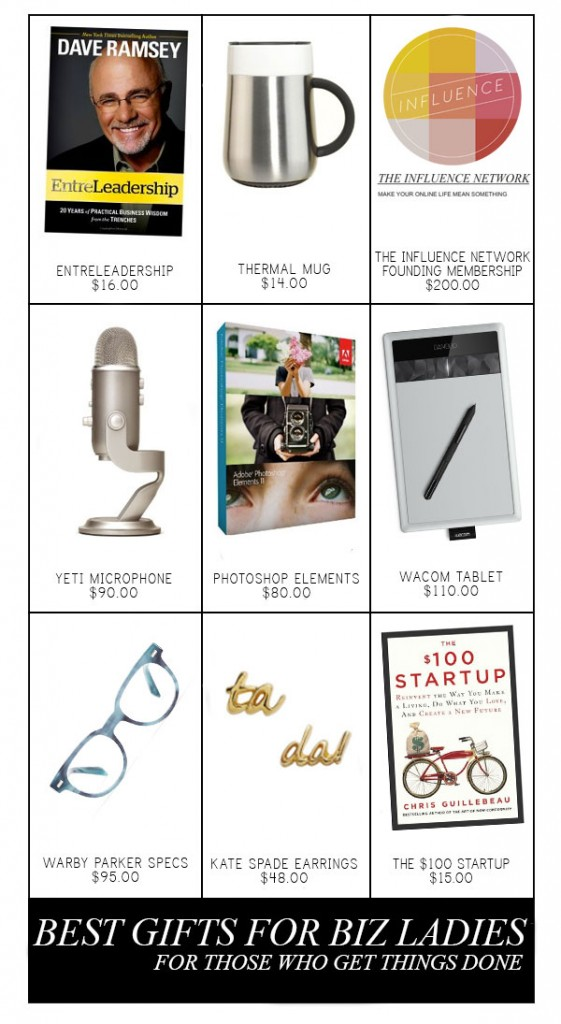 gift guide for business ladies