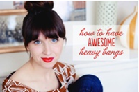 How to Get Awesome Blunt/Heavy Bangs