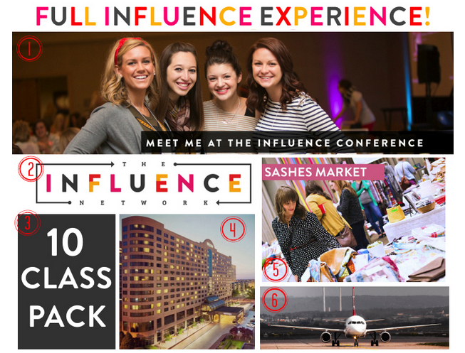influence conference experience